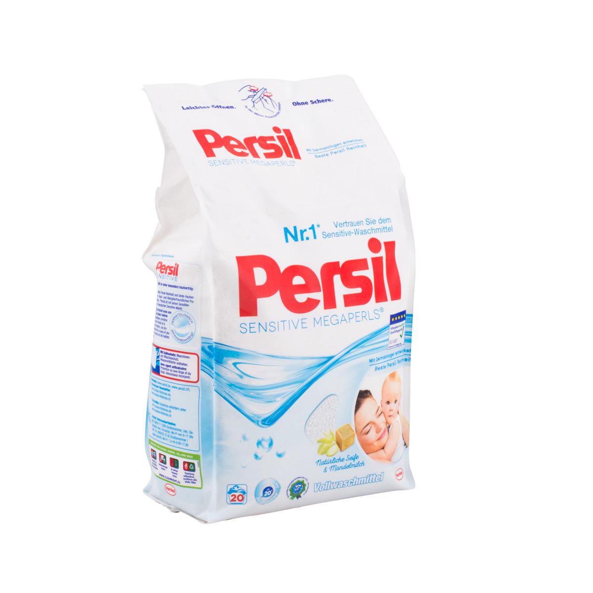 Persil sensitive megaperls prášek na praní 20 praní, 1,48 kg (Persil sensitive megaperls prášek na praní 20 praní, 1,48 kg)