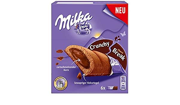 Milka Crunchy Break 6ks 156g