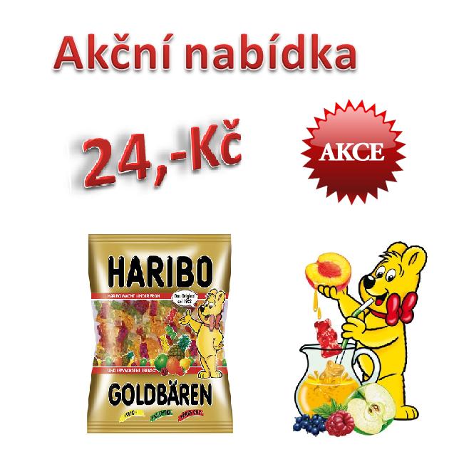 HARIBO GOLDBAREN 200g (Akční nabídka)