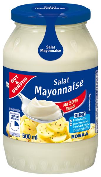 Salát majonéza 500ml (Salát majonéza 500ml)