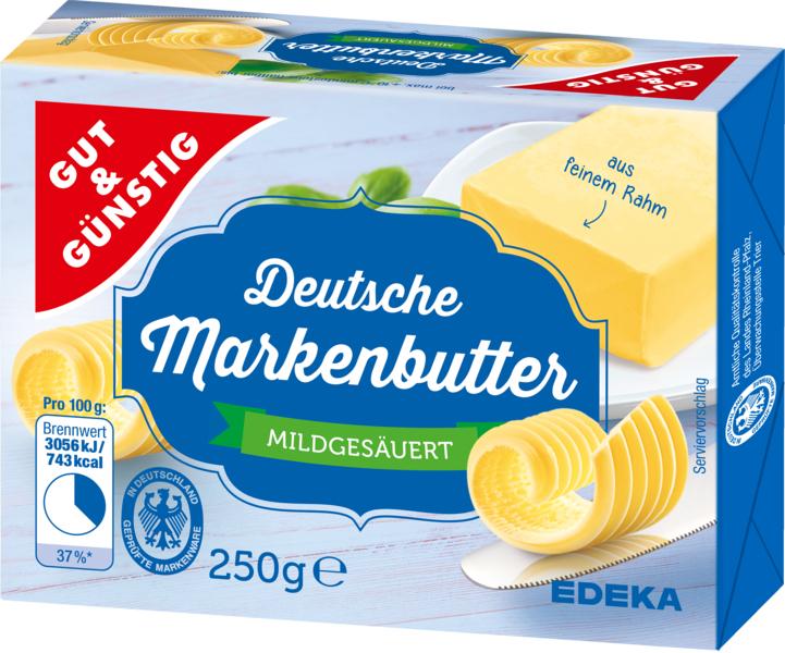 Německé máslo 250g