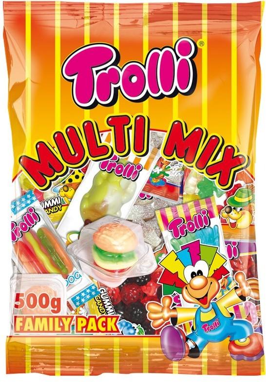 TROLLI MIX 500g (! ! ! LIMITOVANÁ AKCE ! ! !)
