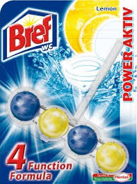 BREF POWER ACTIV - LEMON 4 FORMULA 51G (kuličky do wc)