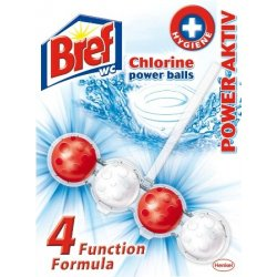 BREF POWER ACTIV-chlorine (kuličky do wc)