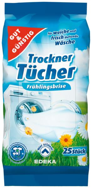 Ubrousky do pračky-sušičky 25.ks (Ubrousky do pračky-sušičky 25.ks)