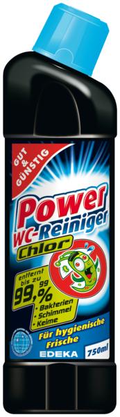 Power-WC-Reiniger s Chlórem 750ml