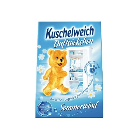 Kuschelweich Sommerwind - vonné sáčky do šatníku 3ks (Kuschelweich Sommerwind - vonné sáčky do šatníku 3ks)