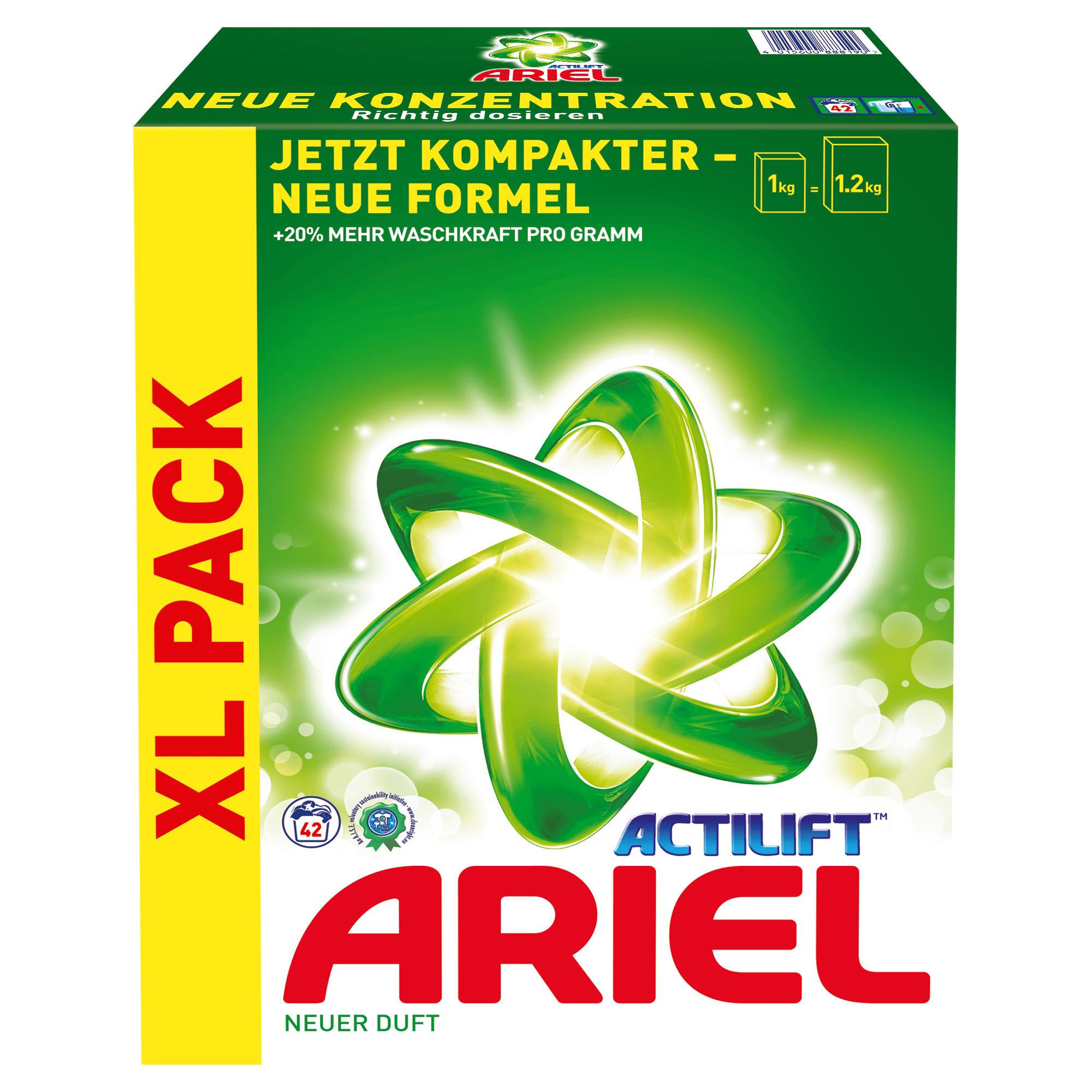 ARIEL ACTILIFT XL PRACÍ PRÁŠEK 2,73 KG - 42 DÁVEK (ARIEL ACTILIFT XL PRACÍ PRÁŠEK 2,73 KG - 42 DÁVEK )