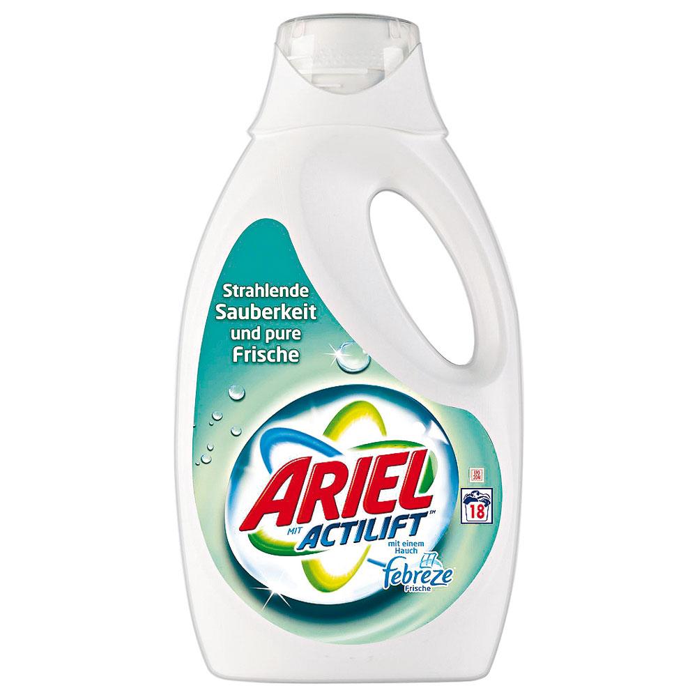 Ariel Actilift s febreze gel 1.040 l